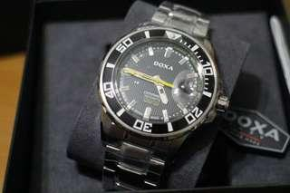DOXA 瑞士錶 鯊魚潛水錶 Ceramica SHARK 300 瑞士腕錶 DOXA Watch Diving Watch D127SBY