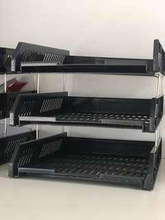 🚚 3-Tier Document Tray $4/set