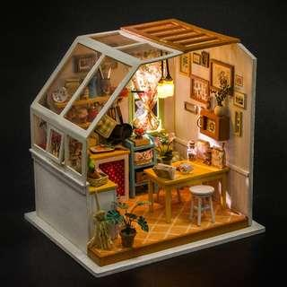 廚房 DIY小屋 場景 模型