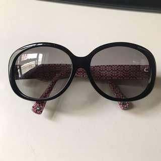 Coach sun glasses 太陽眼鏡