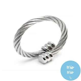Rainy Day Sale! Charriol insp💯Silverworks Twisted Cable Ring