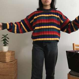 rainbow sweater 🌈