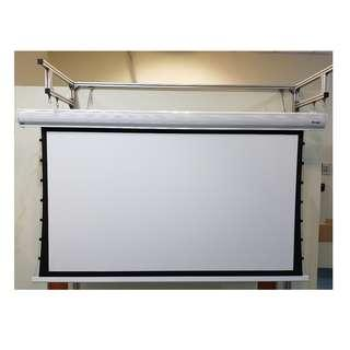 "SALE! $158 Off 100"" 16:9 Tab Tension Motorized Projector Screen"