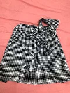 🚚 格子裙