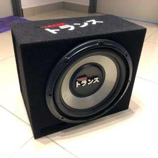 Trans 12 Inch Subwoofer With Enclosure Box #ME150