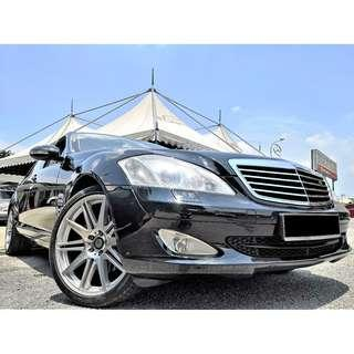 2008 Mercedes-Benz S300L 3.0 (a)[LOCAL CKD SPEC][TIP-TOP CONDITION][SUNROOF][PROMOTION] 08
