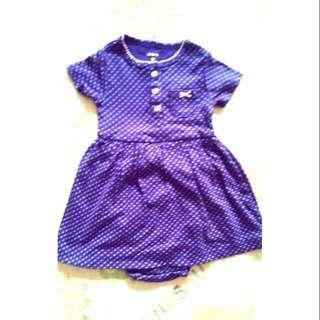 🚩美國Carters包屁衣裙 12個月穿 純棉 購於美國