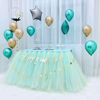 🚚 DIY Tutu sash / tulle roll / tutu table skirt