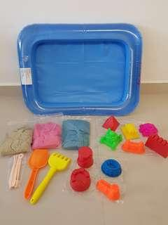 Sensory Play; Motion Sand; Kinetic Sand ; Play Sand Set