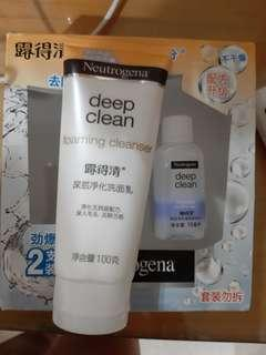 Deep clean foaming cleanser 100gr