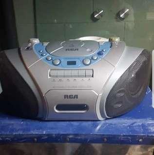 RCA boombox