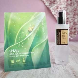 COSRX Snail Essence get Sheet Mask