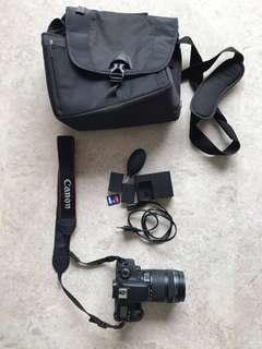 🚚 EOS 760D with 18-135mm kit lens