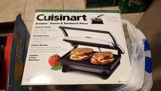 Cuisinart griddler panini & sandwich press