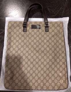 🚚 Gucci Flat Tote Bag (Laptop)