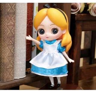 CUICUI DOLL 愛麗絲 公仔 模型 愛麗絲夢遊仙境 Alice 迪士尼 SEGA