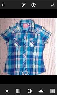 Chequered Blouse