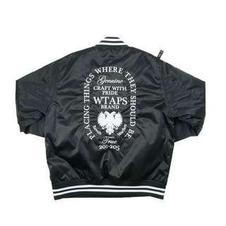 wtaps 17aw team jacket
