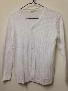 代友售 小學白色冷衫校服