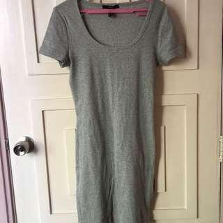 Forever 21 ribbed cotton dress