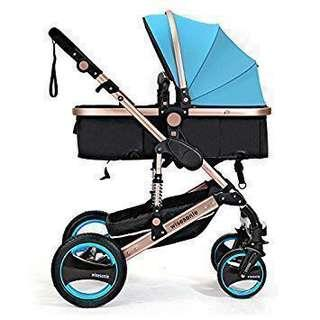 Baby Pram (Blue Color)