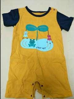 🚚 寶寶短袖連身衣