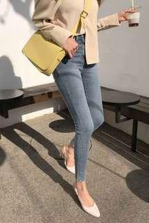 🚚 jeans female nine points 2019 spring and autumn new network