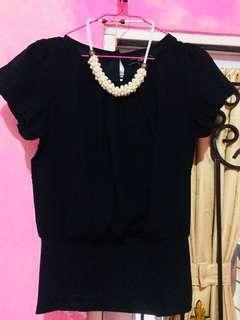 Atasan/blouse cewek Cole - Black