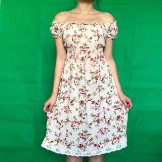 Dazzling Dame Floral Dress