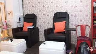 Nail salon for sales
