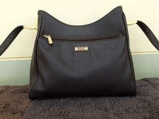 Sling Bag BIGGER Dark Brown (ORI)