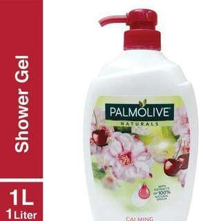 Palmolive Shower Gel 1 L Cherry Blossom