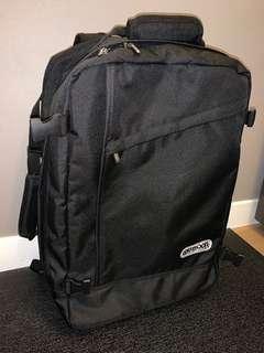 Outdoor 背包/行李箱 2用 有輪
