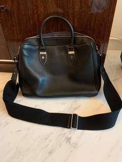 MADE IN ITALY Gieves & Hawkes shoulder messenger bag