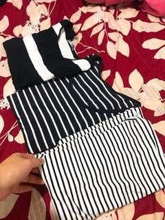 🚚 條紋上衣們#半價衣服市集