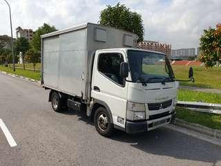 2014 10ft Mitsubishi Fuso Canter Box for Leasing