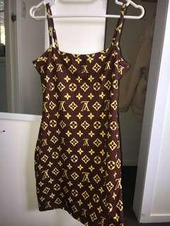 Bootleg Louis Vuitton dress