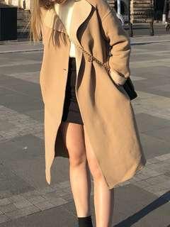 Uniqlo杏色外套