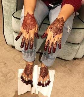Henna bridal