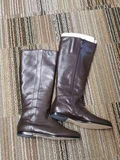 Calvin Klein Full Leather Boots