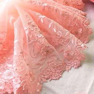 🚚 精緻刺繡蕾絲-華爾滋玫瑰