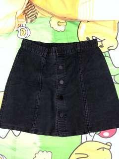Aland黑色短裙