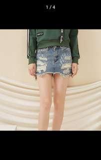 Denim Skirt (IN STOCK)