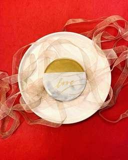 【定制】雲石陶瓷杯墊 Custom Marble Ceramic Coaster Wedding Gift Placecards婚禮回禮,情人,生日禮物