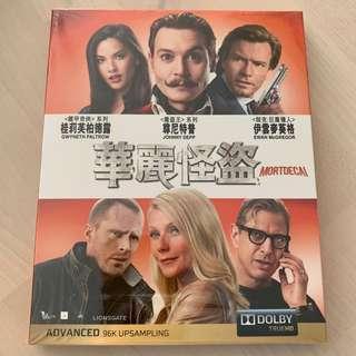 Blu Ray 華麗怪盜 尊尼特普 港版中字
