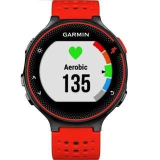 Garmin Forerunner 235-Red c/w HRM (Item No: G09-128 RD)