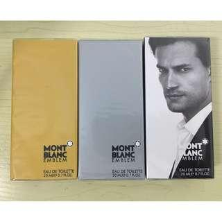 Mont Blanc EMBLEM 20ml pocket perfume