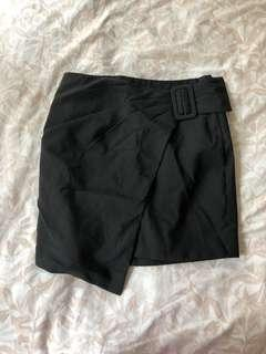 Black work skirt S