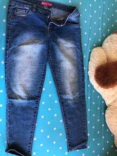 Jeans deffect resleting