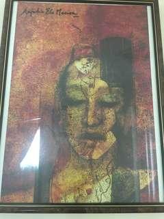 Framed painting for sale from India